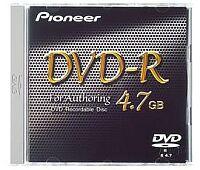 Pioneer DVS-R4700SP DVD-R Authoring 4.7GB