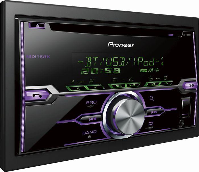 Pioneer FH-X720BT purple