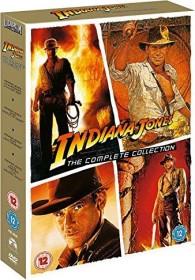 Indiana Jones - Complete Adventures (DVD) (UK)