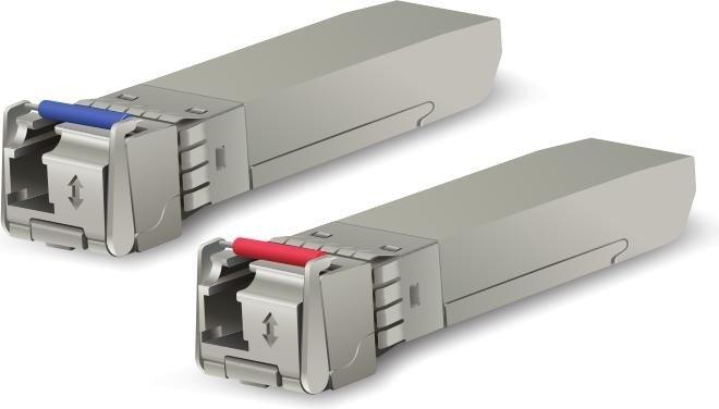 Ubiquiti UF-SM 10G LAN-Transceiver, LC-Simplex SM 10km, SFP+, 20er-Pack (UF-SM-10G-S-20)