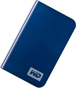 Western Digital WD My Passport Essential blue 500GB, USB 2.0 (WDMEB5000TE)