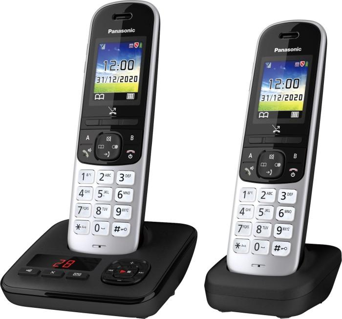 Panasonic KX-TGH722 schwarz/silber