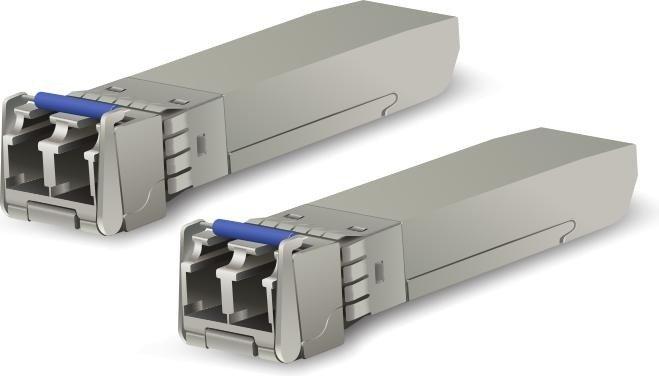 Ubiquiti UF-SM 10G LAN-Transceiver, LC-Duplex SM 10km, SFP+, 2er-Pack (UF-SM-10G-2)