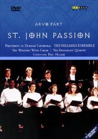 Arvo Pärt - Johannes-Passion (DVD)