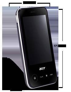 Acer neoTouch P400 schwarz