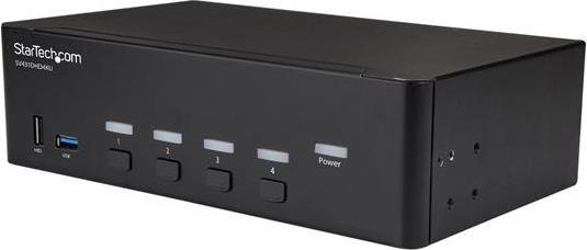 StarTech 4-fach Dual-HDMI 4K KVM-Switch (SV431DHD4KU)