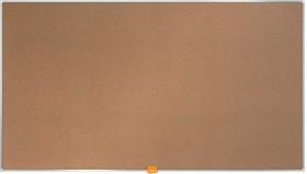"Nobo Kork-Notiztafel Widescreen 40"", braun (1905307)"