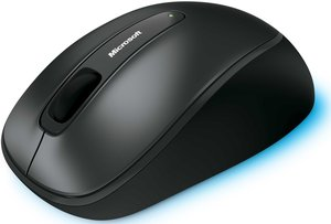 Microsoft wireless Mouse 2000 black, USB (36D-00004/36D-00011)