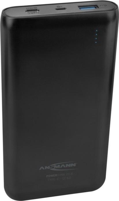Ansmann Powerbank 20.8 Type C QC3.0 schwarz (1700-0097)