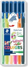 Staedtler triplus color 323 My Watermelon sortiert, 6er-Set (323 SB6CS7)