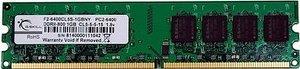 G.Skill Value DIMM 1GB, DDR2-800, CL5-5-5-15 (F2-6400CL5S-1GBNY)