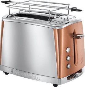 Russell Hobbs Luna toaster copper accents (24290-56)