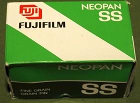 Fujifilm Neopan 400 colour film