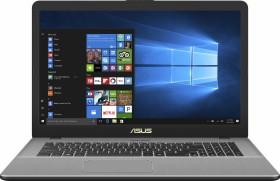 ASUS VivoBook Pro 17 N705UN-GC117T Star Grey, Core i7-8550U, 8GB RAM, 256GB SSD, 1TB HDD, GeForce MX150, DE (90NB0GV1-M01450)