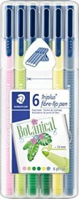 Staedtler triplus color 323 My Botanical sortiert, 6er-Set (323 SB6CS8)
