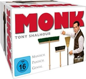 Monk Box (Season 1-8) (DVD)
