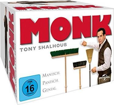 Monk Box (Season 1-8) -- via Amazon Partnerprogramm