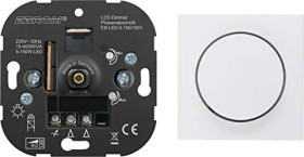 Berker centre plate for rotary dimmer switch/rotary potentiometer, polar white shiny (11378989)