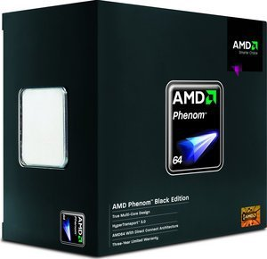 AMD Phenom X4 9950 Black Edition 140W, 4x 2.60GHz, boxed (HD995ZFAGHBOX)