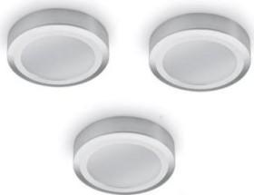 Naber Swag LED 4000K Aufbauleuchte ohne Schalter edelstahl, 3er-Set (7064003)