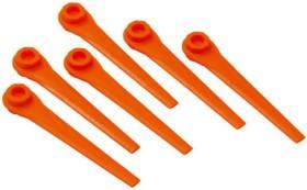 20 Mähkopfmesser Ersatzmesser passend für Gardena AccuCut