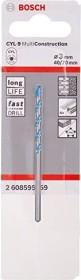 Bosch CYL-9 MultiConstruction Mehrzweckbohrer 3x40x70mm, 1er-Pack (2608595359)