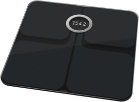 Fitbit Aria 2 schwarz Elektronische Körperanalysewaage (FB202BK)