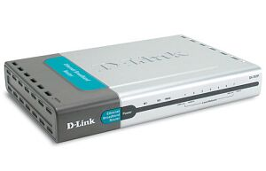 D-Link DI-707P Internet Gateway/Firewall, 7x RJ-45 10/100 + Print Server