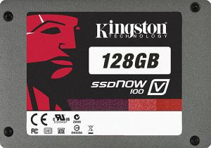 "Kingston SSDNow V100 128GB, 2.5"", SATA II (SV100S2/128GZ)"