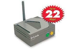 D-Link AirPlus DWL-810+, 22Mbps, LAN