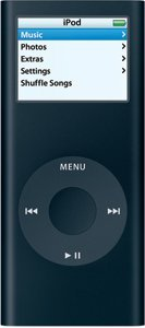 Apple iPod nano 8GB black (2G) (MA497*/A)