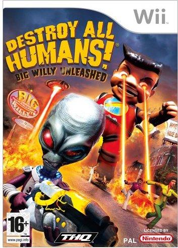 Destroy all Humans! Big Willy: Entfesselt (deutsch) (Wii) -- via Amazon Partnerprogramm