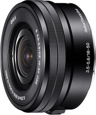 Sony E 16-50mm 3.5-5.6 OSS PZ schwarz (SEL-P1650)