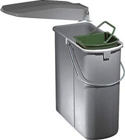 Naber vario 1 Plus installation-garbage can aluminum-grey (8011227)
