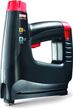 Novus J-214 EA battery operated stapler/nailer incl. case + rechargeable battery 1.3Ah (031-0356)