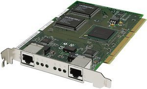 Adaptec Duo66, 2x 100Base-TX, 64bit PCI (ANA-64022LV/1932200)