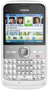 Nokia E5 chalk white