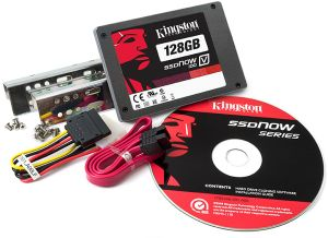 Kingston SSDNow V100 desktop Bundle 128GB, SATA (SV100S2D/128GZ)