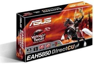 ASUS EAH5850 DirectCU/2DIS/1GD5, Radeon HD 5850, 1GB GDDR5, DVI, HDMI, DisplayPort (90-C1CP10-L0UAY0BZ)