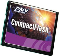 PNY CompactFlash Card (CF)  1GB (P-CF1GB)