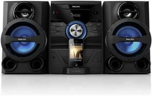 Philips FWM200D black