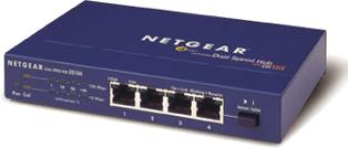 Netgear DS104 Dual Speed Hub