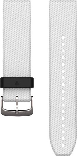Garmin replacement bracelet QuickFit 22 silicone white (010-12500-01)