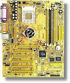 Soltek SL-75FRN (dual PC-3200 DDR)