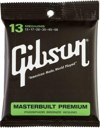 Gibson Masterbuilt Premium Phosphor Bronze Medium (SAG-MB13)