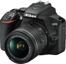 Nikon D3500 schwarz mit Objektiv AF-P VR DX 18-55mm 3.5-5.6G (VBA550K001)