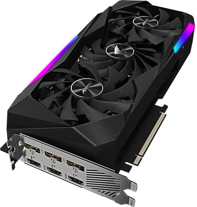 GIGABYTE AORUS GeForce RTX 3070 Master 8G, 8GB GDDR6, 3x HDMI, 3x DP (GV-N3070AORUS M-8GD)