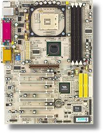 Soltek SL-85ERV2-L, P4X400CE (PC-2700 DDR)