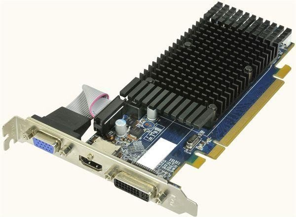 HIS Radeon HD 5450 Silence (500MHz), 1GB DDR3, VGA, DVI, HDMI (H545HR1G)