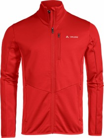 VauDe Back Bowl Fleece FZ Jacke mars red uni (Herren) (41204-139)
